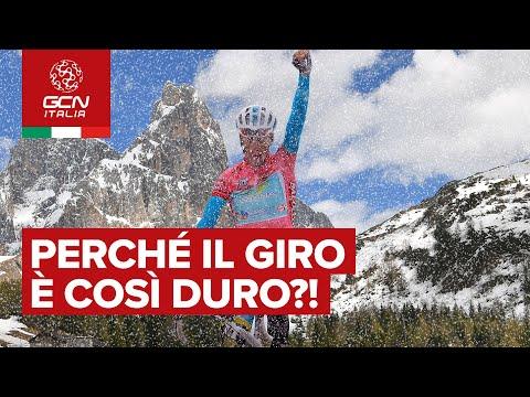 Perché il Giro d'Italia è così duro?!
