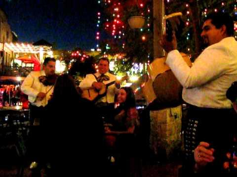 Mariachi music on the Riverwalk