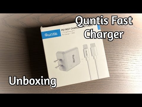 quntis-6ft.-lightning-to-usb-c-&-18w-charger-unboxing