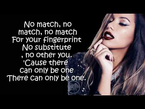 Leona Lewis - Fingerprint  (Lyrics On Screen)