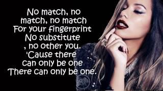 Leona Lewis - Fingerprint  (Lyrics On Screen)