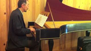 "Frescobaldi - Toccata Nona from ""Partite et Toccate Liblo Primo"" played on an Italian harpsichord"