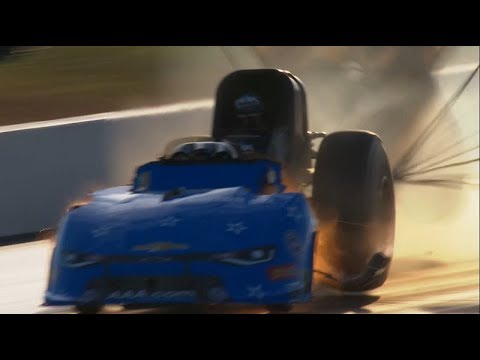 GAINESVILLE - JOHN FORCE EXPLODES ANOTHER FUNNY CAR