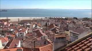 Португалия. Лиссабон с высоты птичьего полета. Португалия(, 2013-03-25T02:00:27.000Z)
