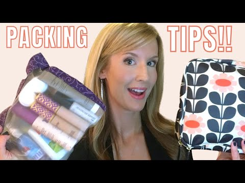 TRAVEL TIPS | How I EASILY Pack Toiletries & Make-up to Carry On a Plane