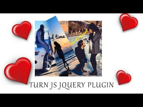 Book Page Flip Effect With Turn Js | Jquery Plugin Tutorial | Turn Js Tutorial