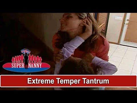 Extreme Temper Tantrum At Bedtime   Supernanny