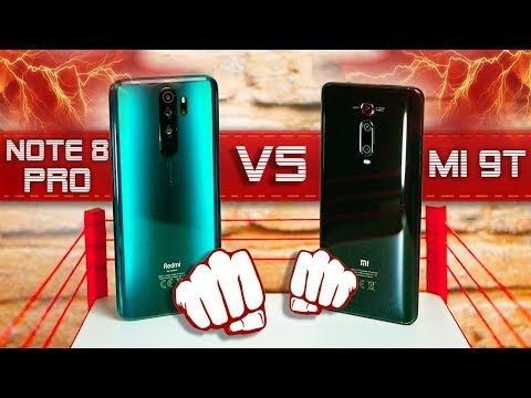 БИТВА 👊🏻 Redmi Note 8 Pro VS Mi 9T – НЕОЖИДАННЫЙ ИСХОД