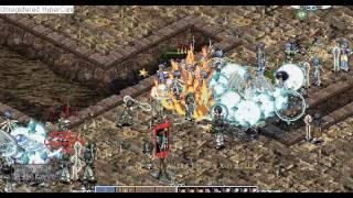 【GODIUS(ガディウス)】2008年1月 ギルドベース防衛戦 TiarA vs ヴァルハラ 撮影者:ホーク