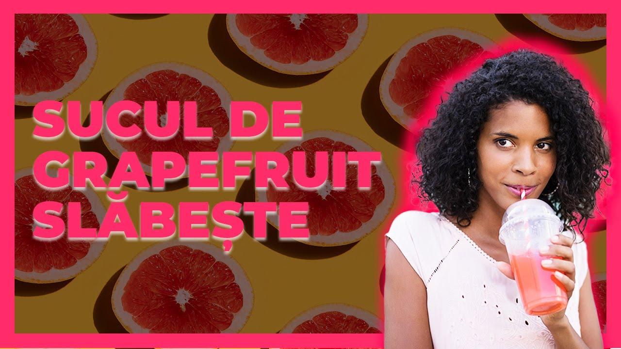 cura de slabire cu grapefruit rosu