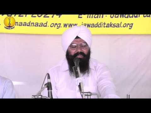 Prof kawardeep Singh : Raagi Tukhari : Gurmat Sangeet Workshop 2015