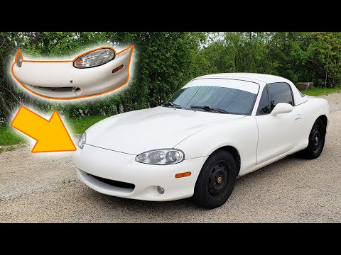 Repeat Miata NB1 To NB2 Conversion And Paint Match by Tyler