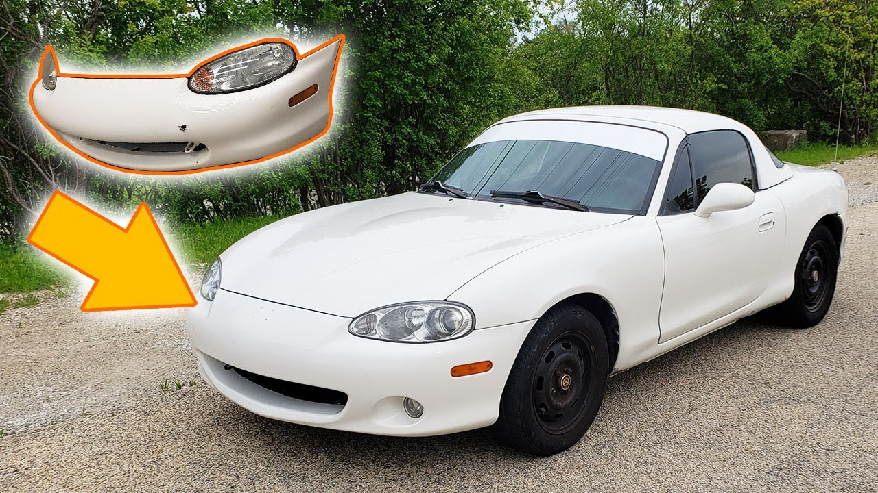 Miata NB1 To NB2 Conversion And Paint Match