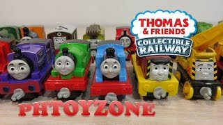 Thomas and Friends Collectible Railway - 20 die-cast metal engines