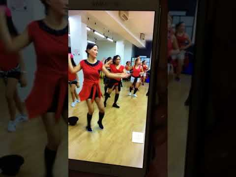 Just studying to dance at just move dance fitness milan, italy
