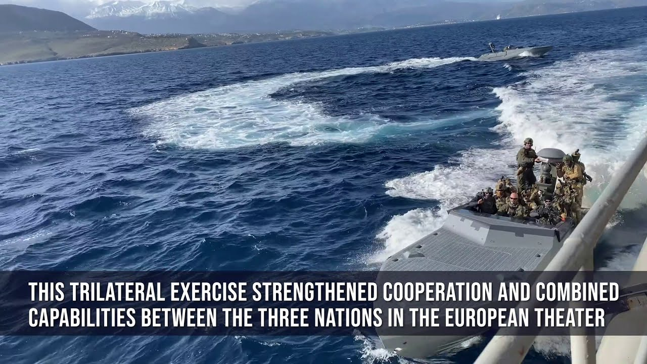 Special Forces • Trilateral Maritime SOF Exercise • Greece 2021