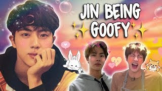 jin being goofy