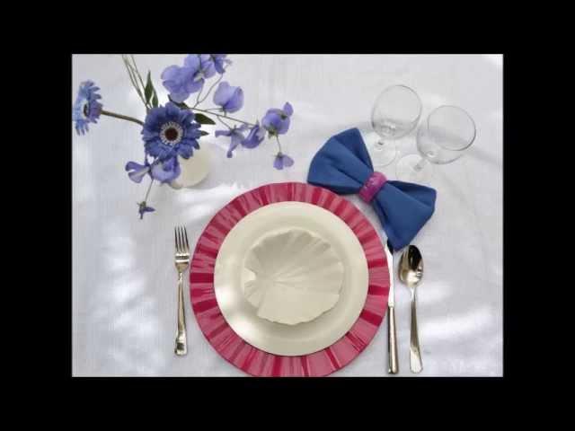 فن تزيين المائدة - 16 مطبخ منال العالم رمضان 2013