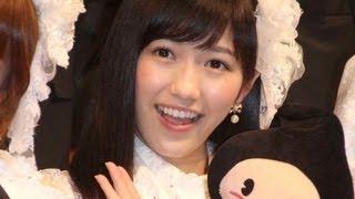 アイドルグループ「AKB48」の渡辺麻友さんらメンバー7人が5月22日、東京都内で行われた「第31回JASRAC賞」の贈呈式に登場。21日から投票が始まった...
