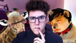 Making YouTubers into Animals