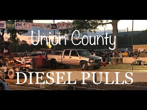 Union County West End Fair Diesel Pulls