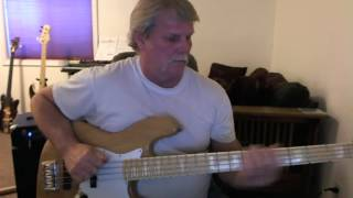 Nazareth - Miss Misery - Bass Cover