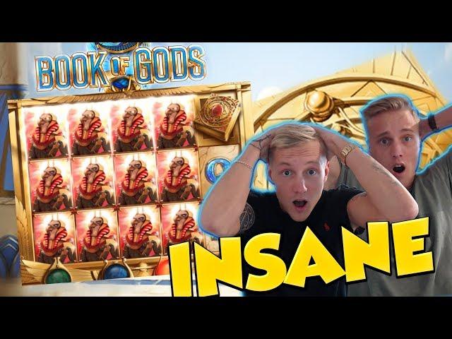 BIG WIN!!! Book Of Gods Huge Win - Casino Games - Slots (gambling)