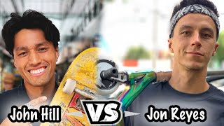 Jon Reyes Vs John Hill