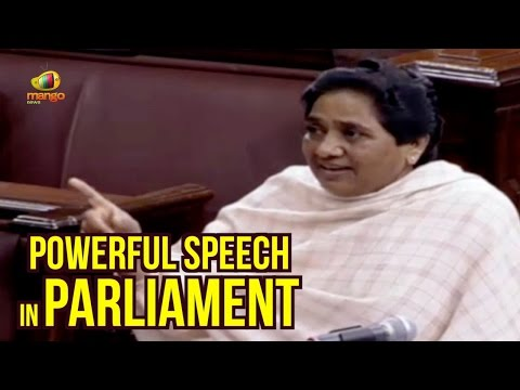 Mayawati Powerful Speech In Parliament | BR Ambedkar | Religious Intolerance | PM Modi
