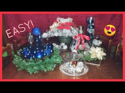 4 Easy Christmas Decoration Ideas For Table