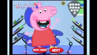 Video Peppa Pig al Dentista - Juego Cuidado Dental Peppa Pig ᴴᴰ – Juegos Para Niños y Niñas download MP3, 3GP, MP4, WEBM, AVI, FLV Oktober 2017