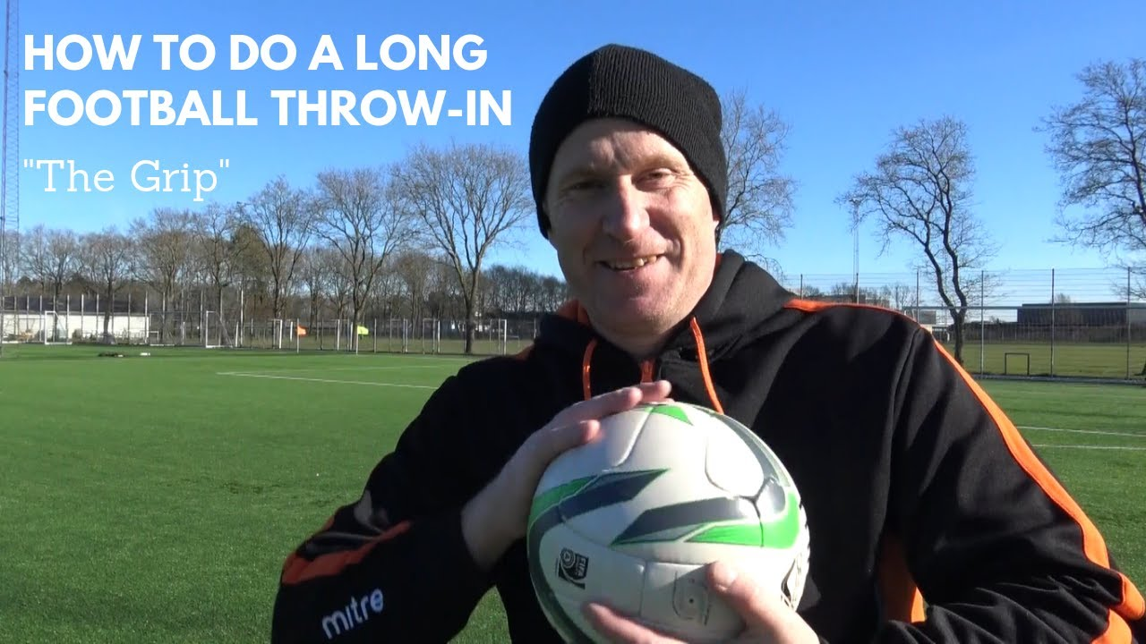 "How to do a LONG Soccer Throw in 2 | ""The Grip"" Thomas Gronnemark ..."