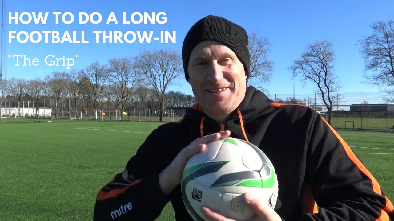 "How to do a LONG Soccer Throw in 2 | ""The Grip"" Thomas Gronnemark ..."