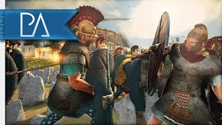 THIS BATTLE IS OVER...OR SO I THOUGHT! - 4v4 Siege Battle - Total War: Rome 2