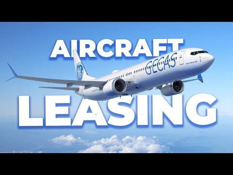 How Aircraft Leasing Works & Why Airlines Do It