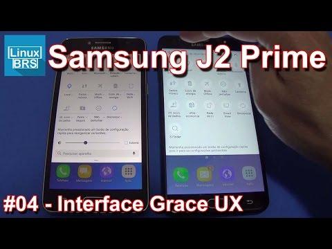 Samsung Galaxy J2 Prime e J7 Prime - Grace UX x Touchwiz