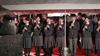 大阪桐蔭高校吹奏楽部 2025大阪万国博覧会誘致活動 BIE調査団歓迎演奏
