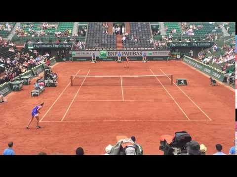 Petra Kvitova Roland Garros 2017 科维托娃法网