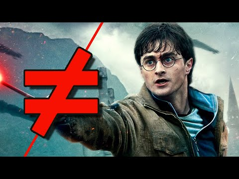 Harry Potter and the Half-Blood Hallows! - What's the Difference?