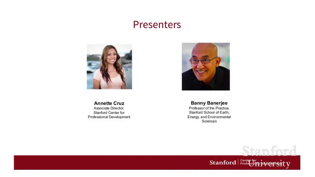 Stanford Webinar: System Innovation - Strategies for tackling complexity  and scale