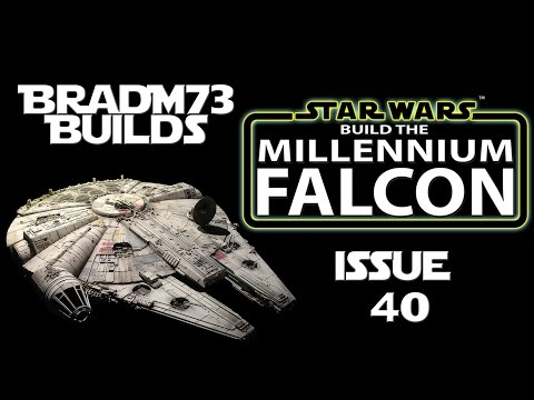 Build the  Millennium Falcon - Issue 40 - The bottom frame is complete!