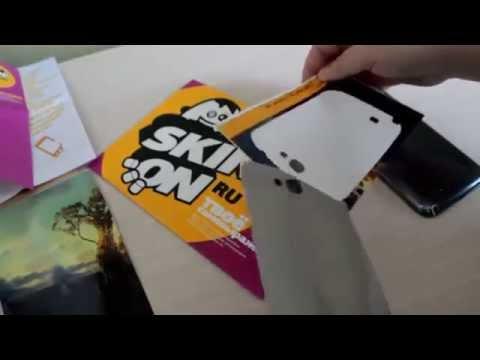 [Обзор] Samsung - виниловая наклейка | skinon.ru