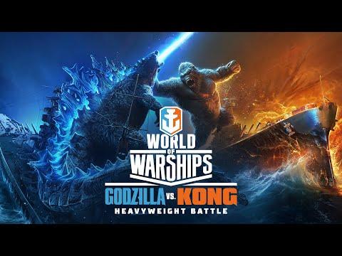 Godzilla vs. Kong: Titans Clash in World of Warships
