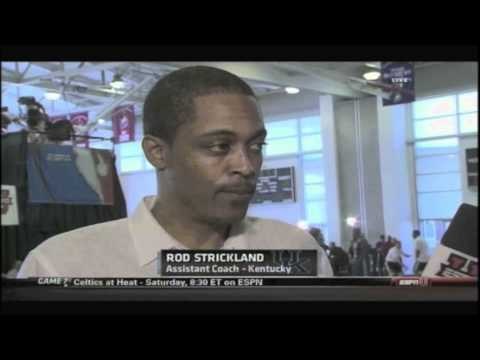Rod Strickland talks to Andy Katz
