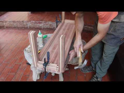 Cómo hacer una banca de madera