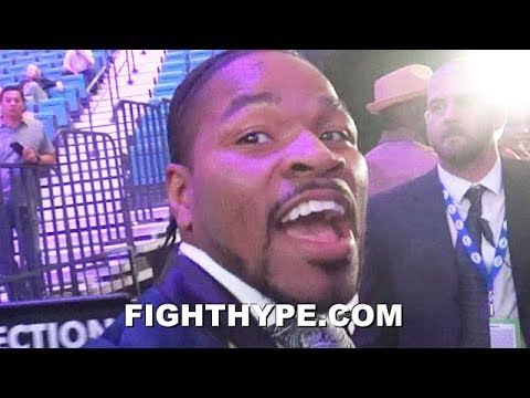 SHAWN PORTER REACTS TO PACQUIAO DROPPING AND BEATING THURMAN: \