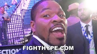 SHAWN PORTER REACTS TO PACQUIAO DROPPING AND BEATING THURMAN:
