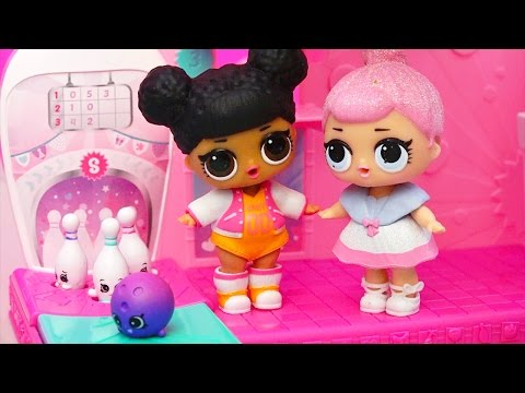 LOL Surprise Babies Birthday Party ! Toys and Dolls Fun Playing with Shopkins Toy Set | SWTAD