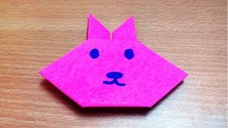 How To Make A Origami Paper Rabbit Face Step By Step.