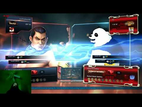 Aris Plays Tekken 7 w/ Feng - Getting Mauled by a Panda